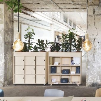 Sustainable home and office storage