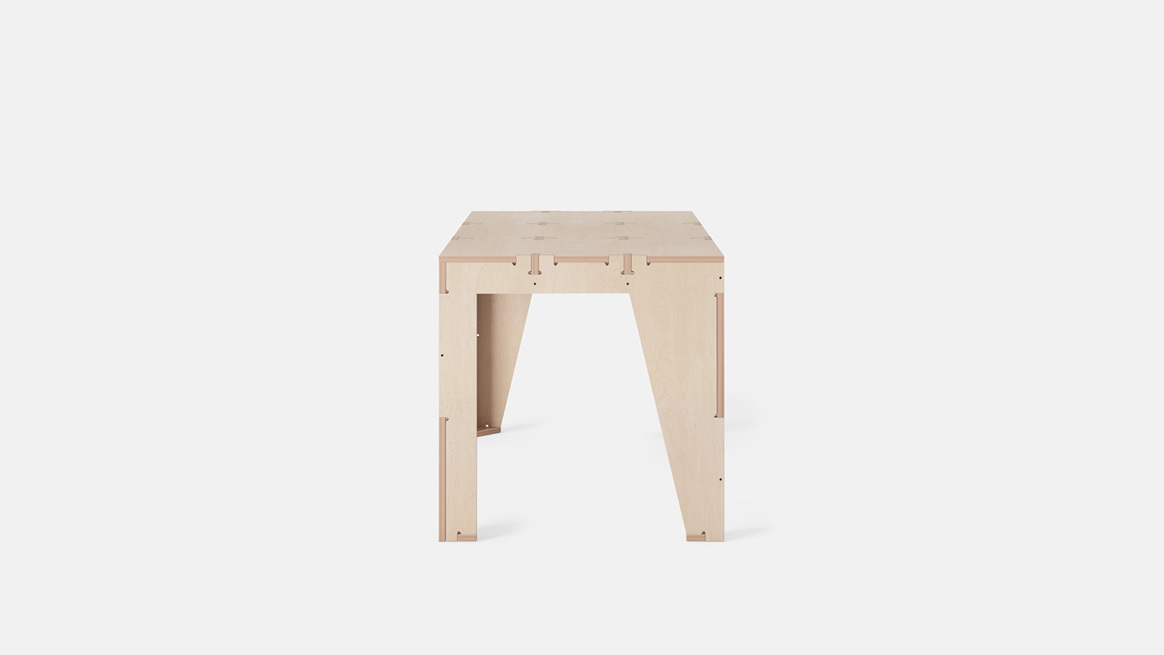 One to Several Table - Sustainable Furniture Workbench